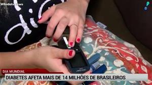 Doença silenciosa, diabetes afeta 14 milhões de brasileiros