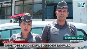 Homem é preso por suspeita de abuso sexual em SP