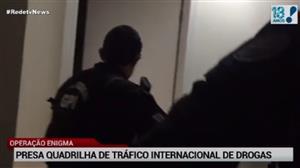 30 pessoas são presas por participação no tráfico de drogas