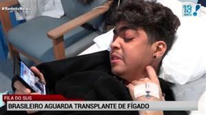 Brasileiro que vive ilegal em Londres tenta transplante de fígado no Brasil