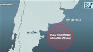 Sumiço de submarino argentino completa uma semana
