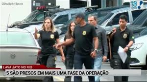 PF prende 5 pessoas em outro desdobramento da Lava Jato no Rio