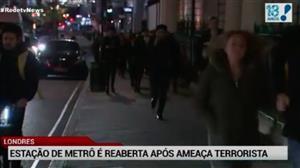 Estação de metrô em Londres é fechada após tiroteio