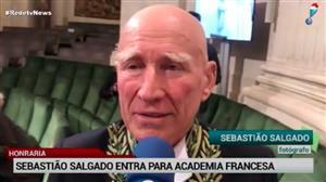 Sebastião Salgado entra para a Academia Francesa
