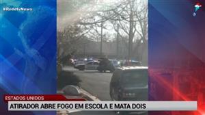 Atirador abre fogo em escola dos EUA e mata dois