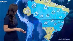 Tempo fica instável na maior parte do Brasil neste sábado (9)