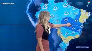 Chuva predomina em boa parte do Brasil nesta quinta (14)