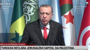 Turquia declara Jerusalém como capital da Palestina