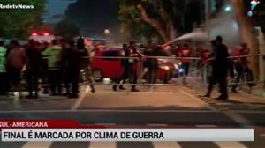 Final da Sul-Americana é marcada por clima de guerra