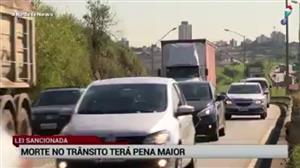 Pena por morte no trânsito será maior