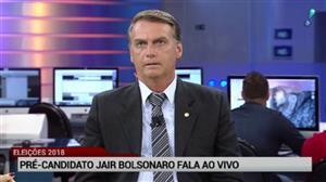 Bolsonaro diz não acreditar em chances de Meirelles ou Maia nas eleições