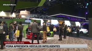 Feira de tecnologia nos EUA apresenta veículos inteligentes