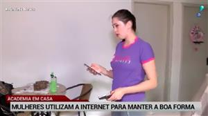 Mulheres usam a internet para manter a boa forma