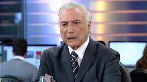 """Temer: """"Lula é um líder popular. Tem votos hoje, mas pode não ter amanhã"""""""