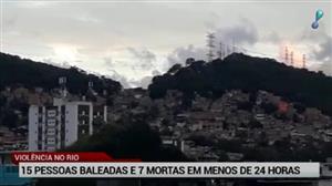 Sete pessoas morrem durante tiroteios no Rio de Janeiro
