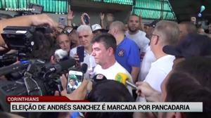 Eleição de Andrés Sanchez no Corinthians acaba em pancadaria