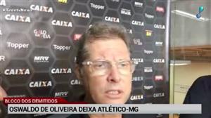 Após resultados ruins, Galo demite Oswaldo de Oliveira
