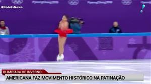 Patinadora dos EUA consegue manobra histórica nos Jogos de Inverno