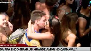 É possível encontrar um grande amor no Carnaval?