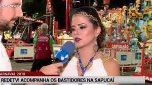 """Sapucaí já está no clima de """"esquenta"""" para os desfiles desta terça (12)"""