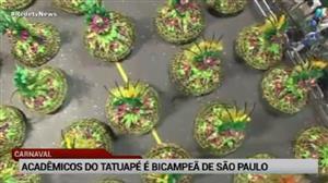 Acadêmicos do Tatuapé vence carnaval de São Paulo