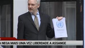 Justiça do Reino Unido nega liberdade a Julian Assange