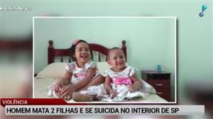 Homem mata as duas filhas e se suicida em seguida em SP