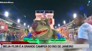 Pela 14ª vez, Beija-Flor conquista o Carnaval do Rio