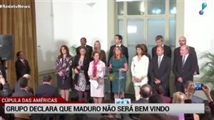 """Cúpula das Américas diz que Maduro não será """"bem-vindo"""" em próximo encontro"""