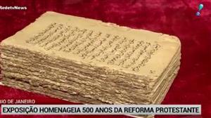 Exposição no Rio homenageia os 500 anos da Reforma Protestante