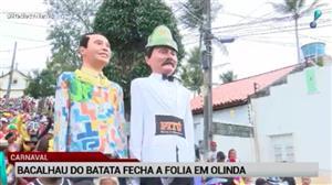 Bloco Bacalhau do Batata marca a Quarta de Cinzas em Olinda