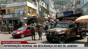 Rio de Janeiro está 'acostumado' com operações militares