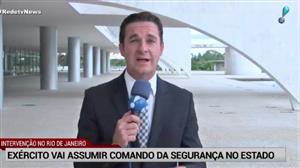 Cúpula de segurança do Rio é afastada após intervenção federal