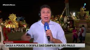 Sambódromo do Anhembi recebe desfile das campeãs de São Paulo