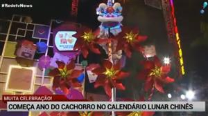 China comemora início do ano do cachorro no calendário lunar