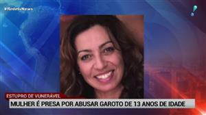 Mulher é presa após suspeita de abusar de garoto de 13 anos dentro de carro