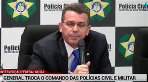 Rio anuncia novo comando para as polícias Civil e Militar