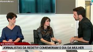 RedeTV! homenageia suas jornalistas no Dia Internacional da Mulher