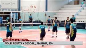 RedeTV! transmite neste sábado (10) Vôlei Renata x Sesc Rio