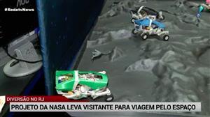 Projeto da Nasa chega ao Rio de Janeiro