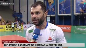 Rio perde a chance de liderar a Superliga