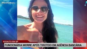 Mulher morre após tiroteio em agência bancário em São Bernardo