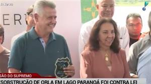 Governo do DF não cumpriu lei ao desobstruir orla do lago Paranoá
