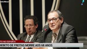 Morre Bebeto de Freitas, nome histórico do vôlei e do futebol