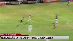 Ida de Zeca para o Corinthians 'esfria' e Santos tira sarro na web
