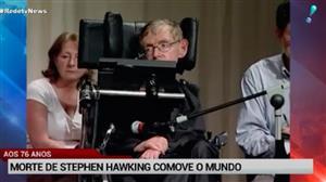 Morre Stephen Hawking, uma das mentes mais brilhantes da humanidade