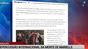 Assassinato de Marielle Franco repercute na imprensa mundial