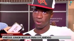 No Equador, Vinícius Jr. brilha e dá vitória ao Flamengo