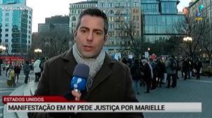Nova York tem protestos contra a morte de Marielle Franco