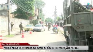 Intervenção federal no Rio completa um mês; pouca coisa mudou